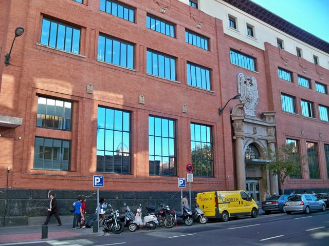 Sede de Correos en Bilbao.
