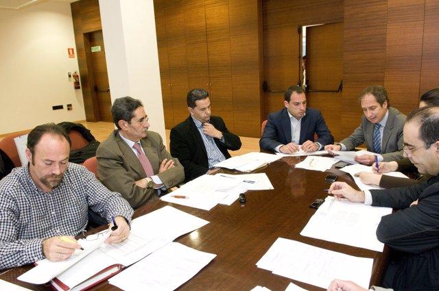 Reunión de la Comisión Comarcal de Empleo de Cartagena