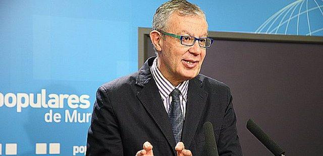 El portavoz del Partido Popular, José Antonio Ruiz Vivo