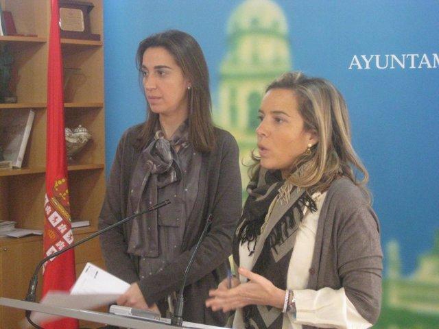 Fuentes y Martínez-Cachá, en la rueda de prensa