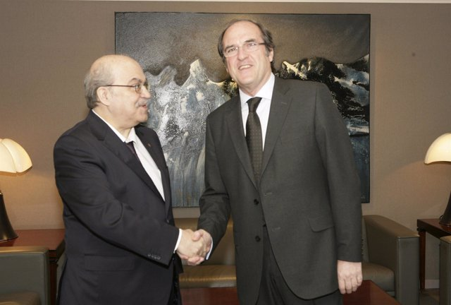 El ministro Ángel Gabilondo y el conseller Andreu Mas-Colell