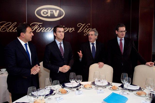 VIGOAlberto Núñez Feijóo presentará a Antonio Basagoiti, presidente do Partido P