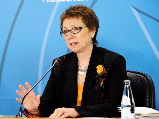 Carmen Martínez Aguayo, en rueda de prensa