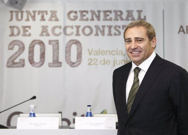 Félix Abánades, presidente de Quabit