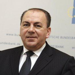 Axel Weber, miembro del BCE y presidente de Bundesbank