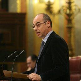 Portavoz del Bloque Nacionalista Galego (BNG) en el Congreso, Francisco Jorquera
