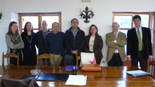 La consejera Amelia Salanueva preside la primera reunión de la Fundación pública