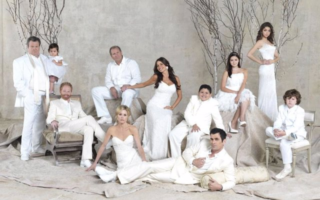 Imagen de la segunda temporada de 'Modern Family'