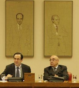 José Bono y Javier Rojo