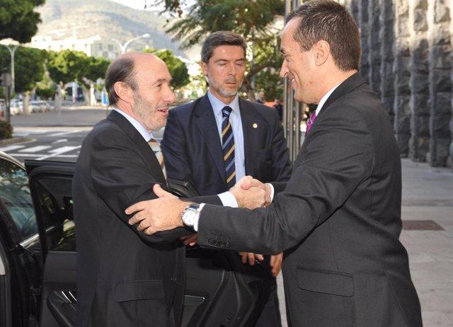Fotos El Presidente Del Gobierno De Canarias Se Reúne Con El Vicepresidente Prim