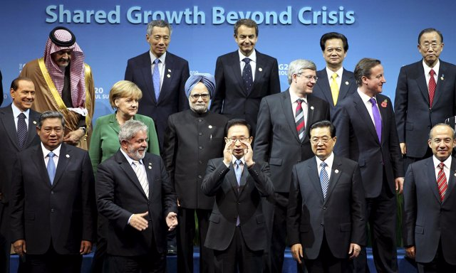 Cumbre del G-20 en Corea del Sur