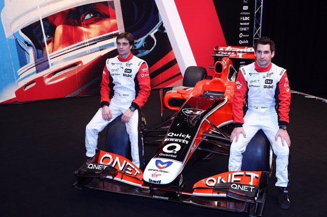 Presentación del equipo Virgin Racing en Londres