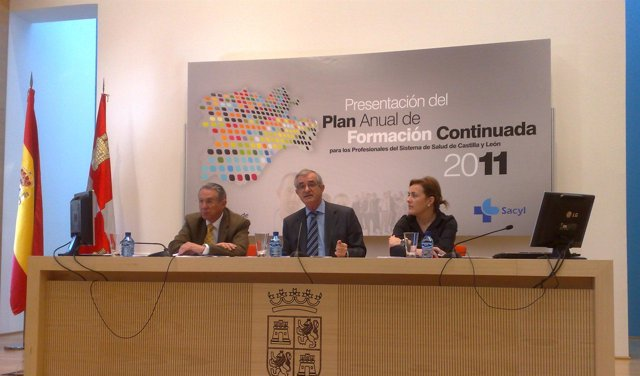 Presentación del Plan de Formación Continuada 2011 de la Consejería de Sanidad.