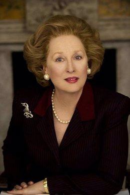 Meryl Streep se convierte en Margaret Thatcher