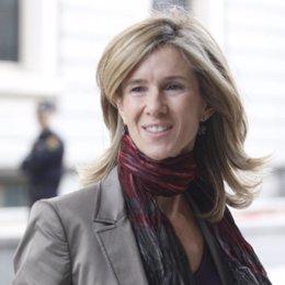 ministra de ciencia e innovación, Cristina Garmendia