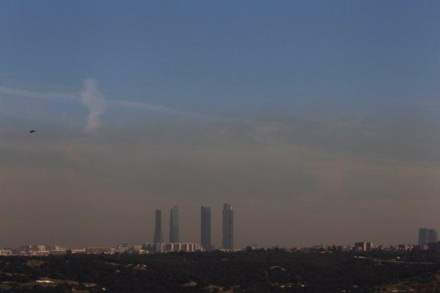 Recurso de la contaminación en Madrid