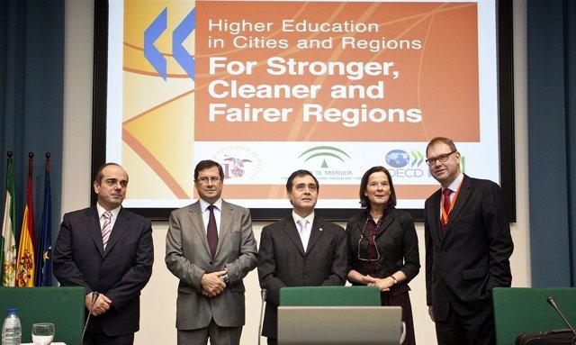 Inauguración de Conferencia Internacional sobre Educación Superior