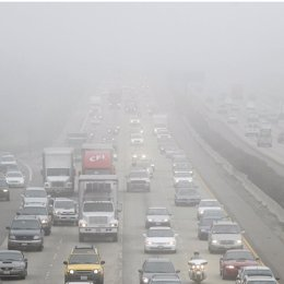 Contaminación de vehículos
