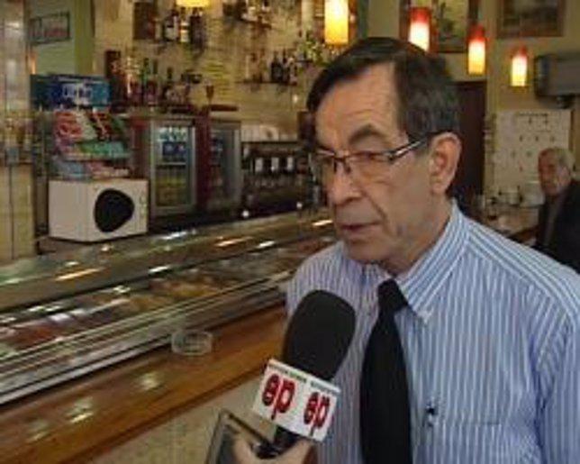 El responsable de un bar insumiso en Valencia