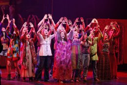 El musical 'Hair'