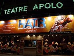 El musical 'Hair' en Barcelona