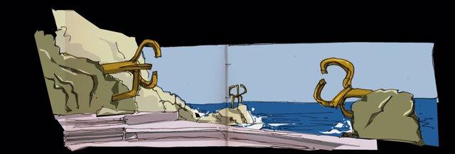 El Peine de los Vientos, de Josy Maroto