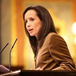 Beatriz Corredor en el Congreso de los Diputados