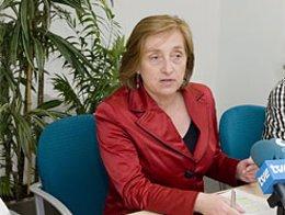 La consejera de Salud del Gobierno de Navarra, María Kutz.