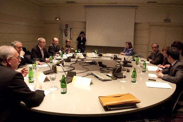 reunion Pajin con el Foro de AP