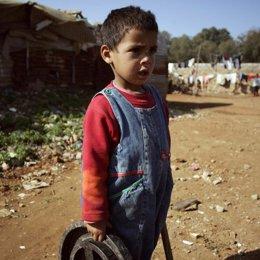 niño pobreza españa