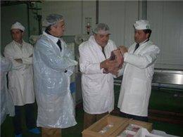 Visita a la industria Cárnicas Quesada