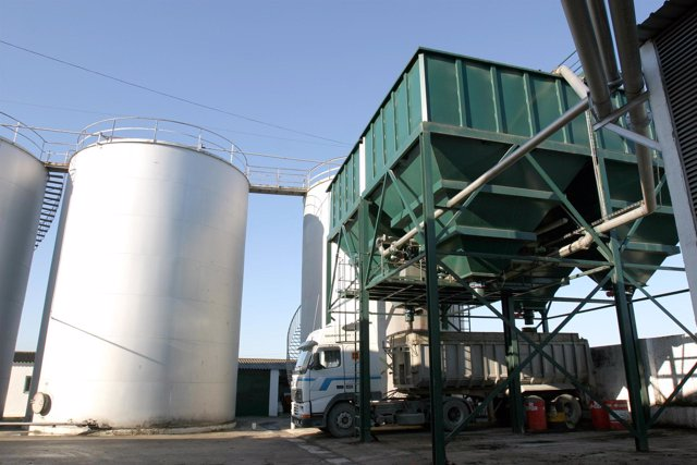 Almazara de aceite en Jaén