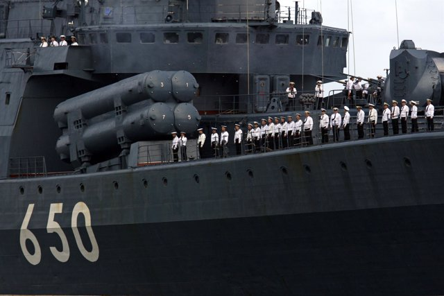 Navío de guerra ruso