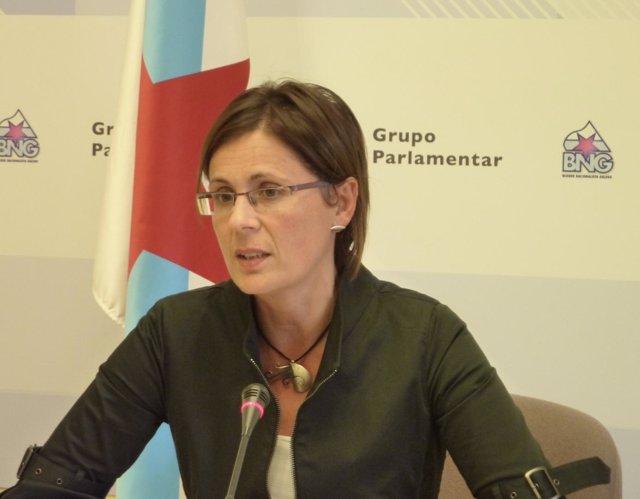 Carme Adán, diputada del BNG en el Parlamento autonómico
