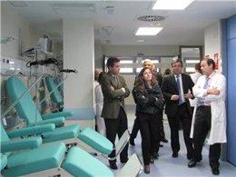 Inauguración del nuevo centro de salud de Coria
