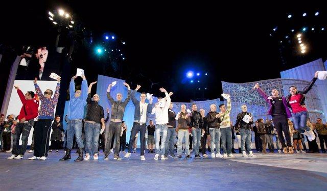 Drag finalistas en la fase de preselección del Carnaval de Las Palmas de Gran Ca