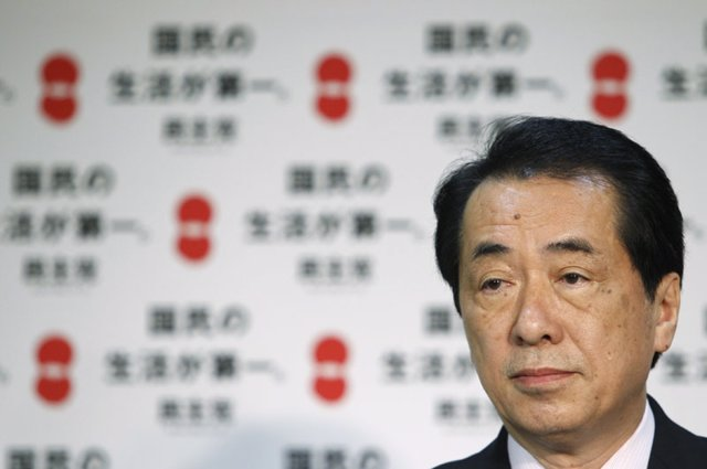 Naoto Kan, primer ministro de Japón