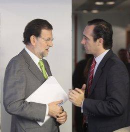 Mariano Rajoy y José Ramón Bauzá