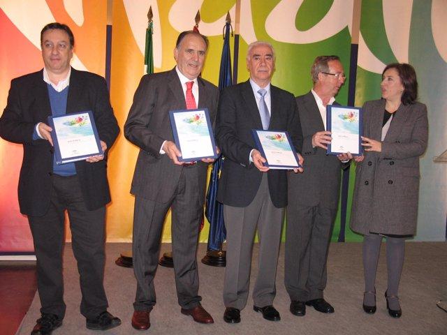 El consejero, Luciano Alonso, presenta el II Plan de Calidad de Andalucía