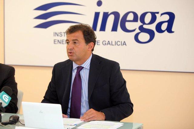 El Conselleiro De Economía E Industria, Javier Guerra
