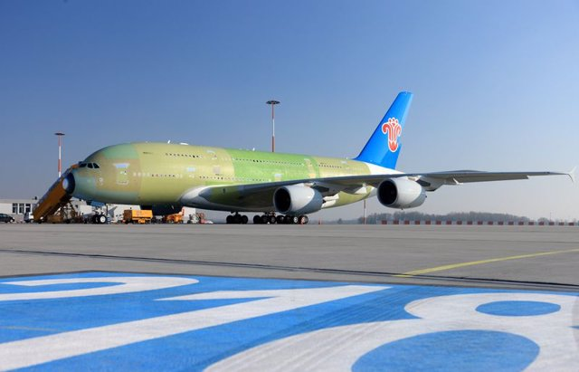 A380 de China Southern Airlines