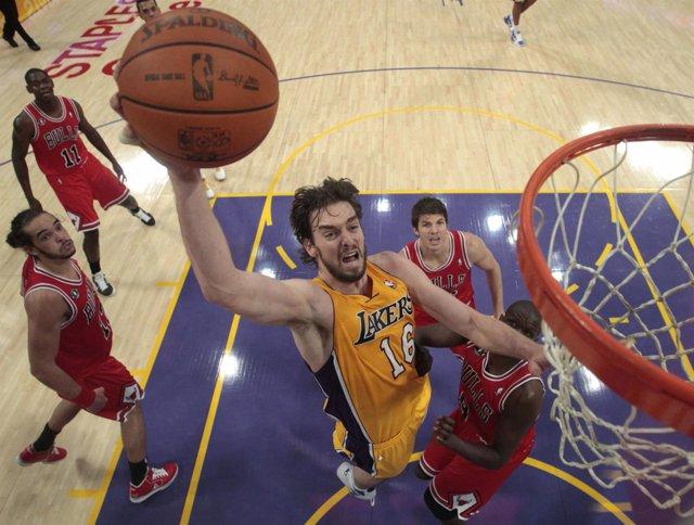 Pau Gasol LA Lakers
