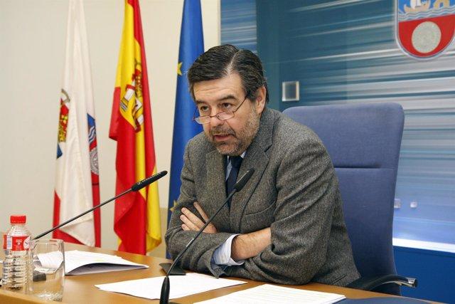 Ángel Agudo, consejero de Economía del Gobierno cántabro