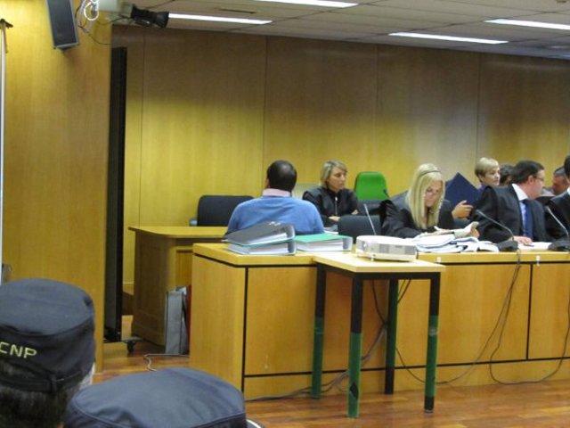 'Pitoño' durante el juicio