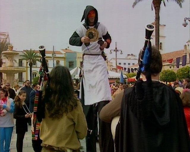 Comienzan los carnavales y mercado romano