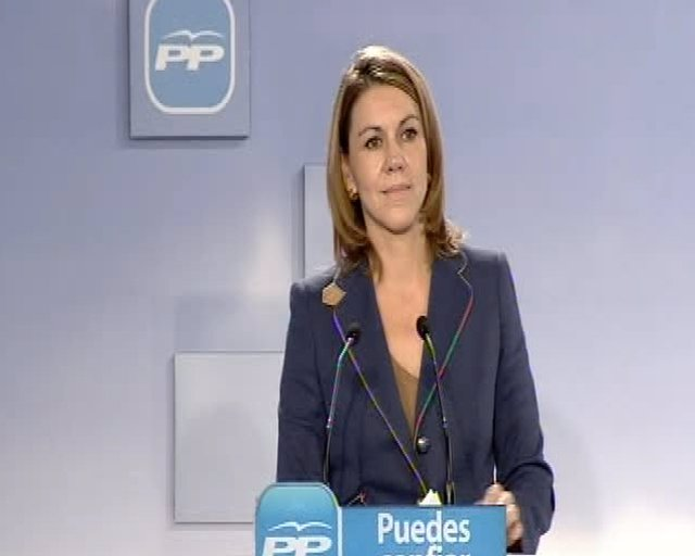 "Cospedal:""ETA es ETA y siempre será ETA"""