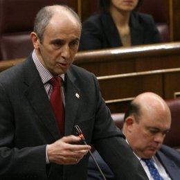 Josu Erkoreka en el Congreso