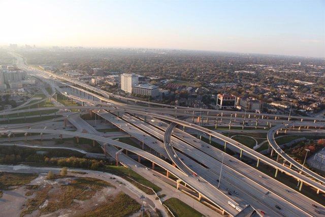 autopista LBJ Express de Ferrovial en Texas (EEUU)