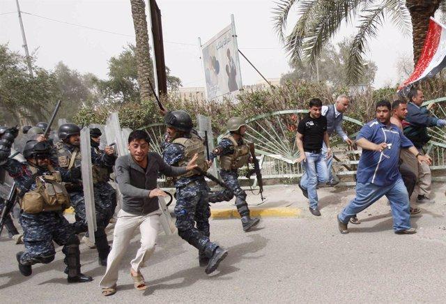 Protestas en Irak para reclamar mejoras en los sevicios básicos