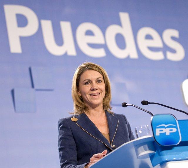 Dolores de Cospedal en Palma de Mallorca